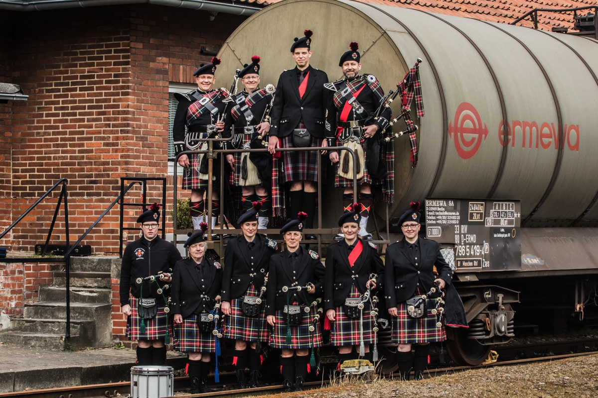 Teuto District Pipeband